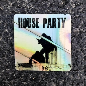 ZF - House Party - Sticker