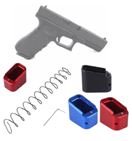 Glock Base pad kit magazine extension for Glock 19, 23