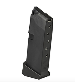 Glock - Magazine Glock 43 - .9mm - 6rds +extension