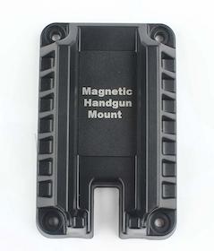 Magnetic gun mount.