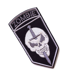 """Military Army Badge """"zombie"""" - Tactical Patch"""