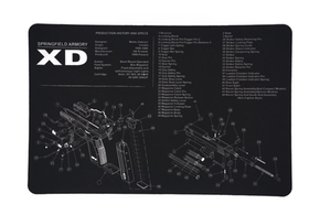 Springfield armoury xd -  Gun Cleaning Bench Mat