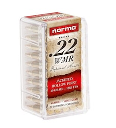 Norma - 22 WMR Jacked hollow point
