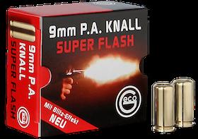 Geco - Blank cartridges - 9mm - Super Flash