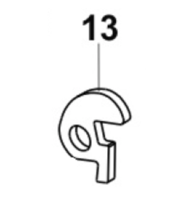 CZ - Firing pin block lever