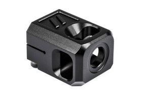 ZEV - Pro Compensator V2, 1/2x28 Threading, 9mm, Black