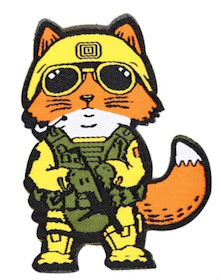 Fox - Tactical Patch