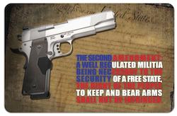 TekMat Gun Cleaning Bench Mat - 2nd Amendment