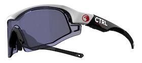 CTRL - One - White and Black - Blue lens