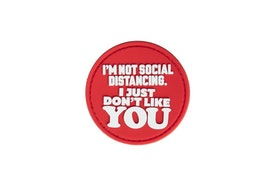 3D patch - Just Don't Like YOU Patch - Red