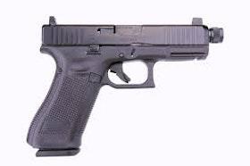 Glock 19 Gen5 MOS FS - threaded M13.5X1 left, 9 mm
