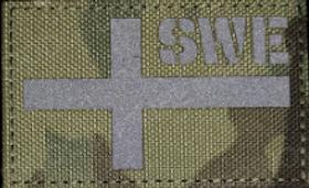 Sweden Flag camo Patch
