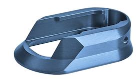 CZ - Magazine funnel CZ 75 Shadow 2, elox blue