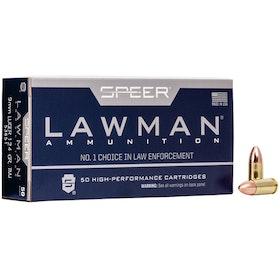 SPEER - Lawman ammunition - 9mm Luger TMJ - 124gr