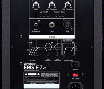 Presonus Eris E7 XT, Aktiv studiomonitor (Pris/styck)