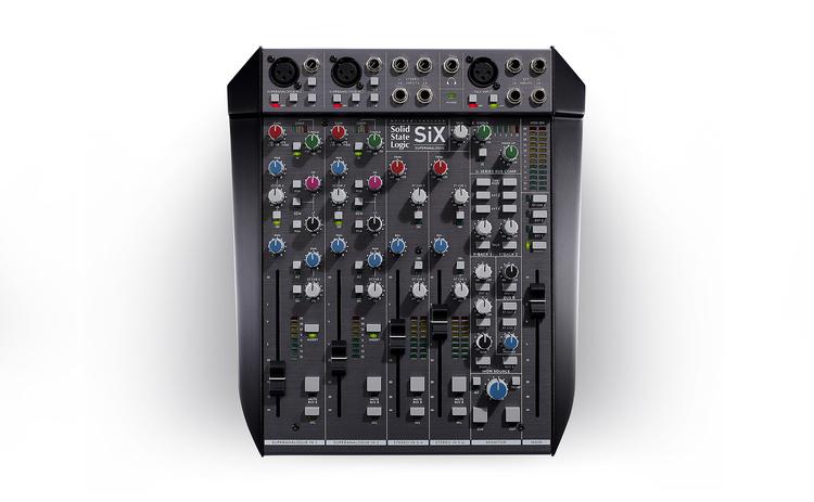 SSL SiX mixerbord
