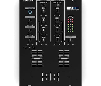 Reloop RMX-10BT, 2-kanalig kompakt DJ-mixer med blåtand