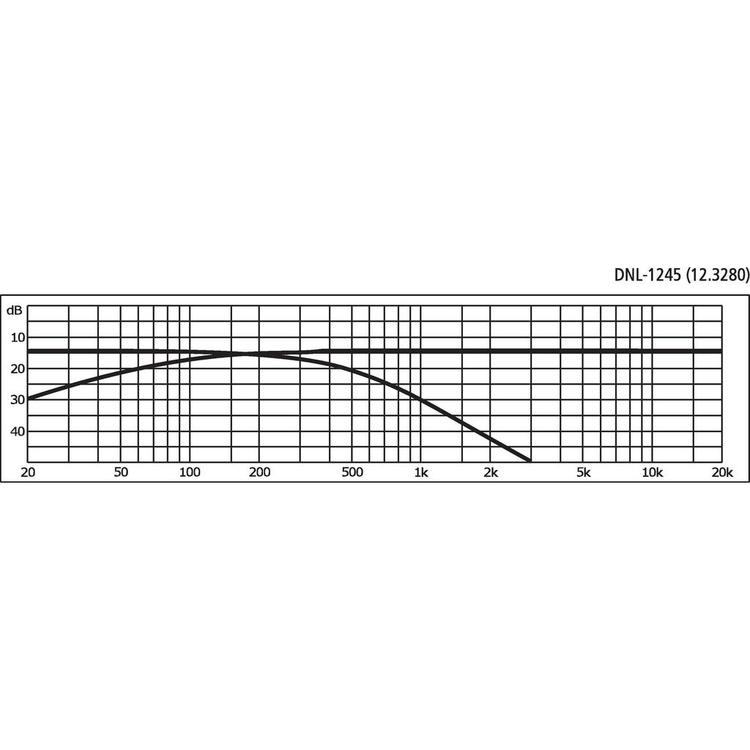 Monacor DNL-1245 Delningsfilter bas