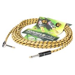 Sommer Cable CQHU-0600-GE 6,00 m Instrument Cable SC-Classique