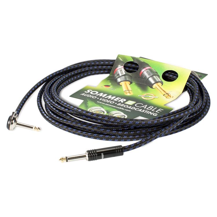 Sommer Cable CQHU-0600-BL 6,00 m Instrument Cable SC-Classique