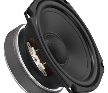 """Monacor SPH-135TC 5,5"""" Sub-bas högtalare"""