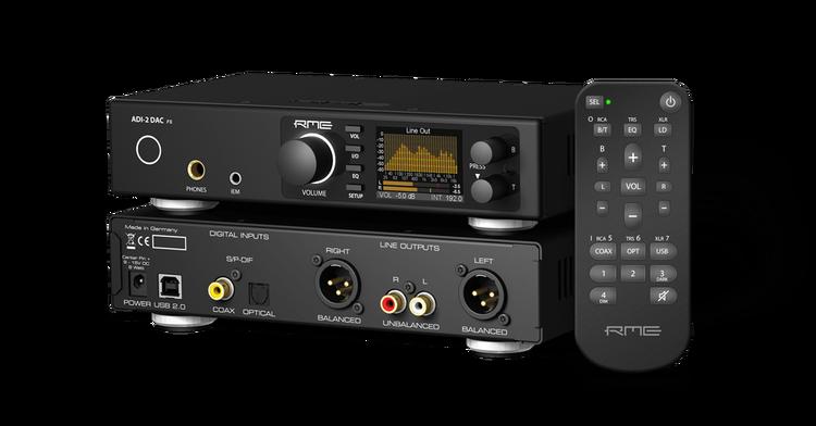 RME ADI-2-DAC-FS, DAC och hörlursförstärkare