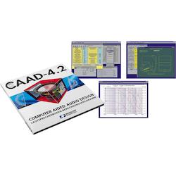 Monacor CAAD-4.2 simuleringsprogram, högtalare