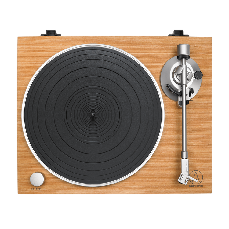 Audio-Technica AT-LPW30TK Skivspelare, remdrift 33,45 rpm