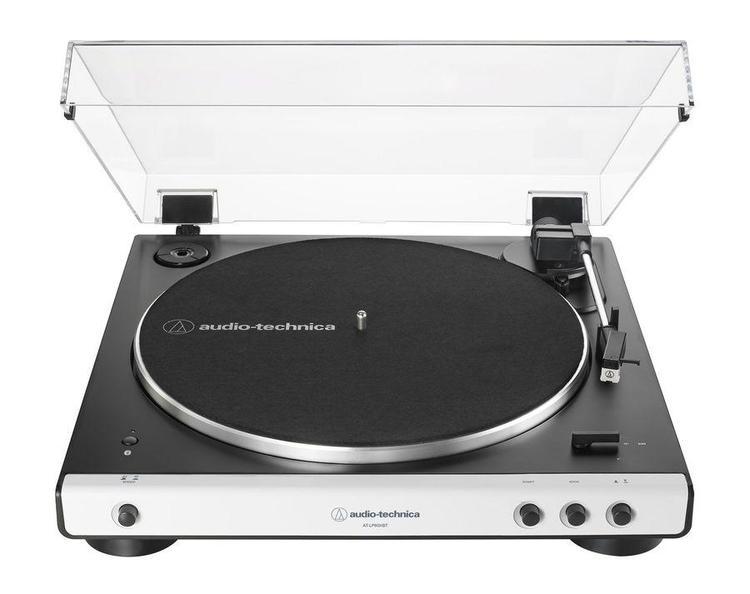 Audio-Technica AT-LP60XBT WH Skivspelare, vit front
