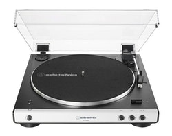 Audio-Technica AT-LP60BTWH Skivspelare, vit front