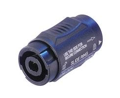 Neutrik NL4MMX, 4-polig Speakon® skarvrör