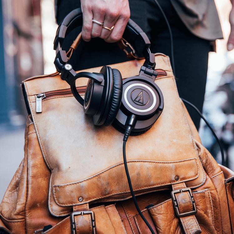 Audio-Technica ATH-M50X - Sluten Dynamisk Hörlur