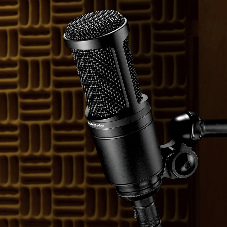 Audio-Technica AT2020 - Stormembranig kondensatormikrofon
