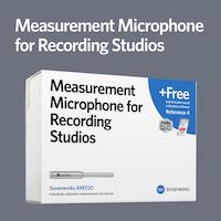 Measurement Microphone for Recording Studios (XREF20)