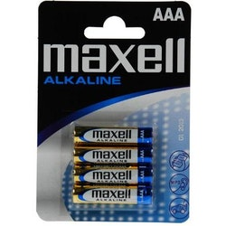 Maxell (AAA) LR-03 4pack