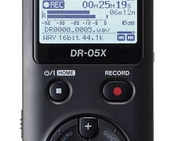 Tascam DR-05X Stereo Handhållen Audio Recorder - USB Audio Interface