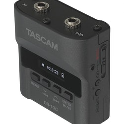 Tascam DR-10CH Recorders for Shure lavalier microphones