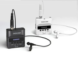 TascamDR-10L Digital Audio Recorder With Lavalier Microphone