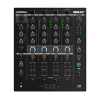 Reloop RMX-44 BT Premium 4-channel Bluetooth DJ club mixer