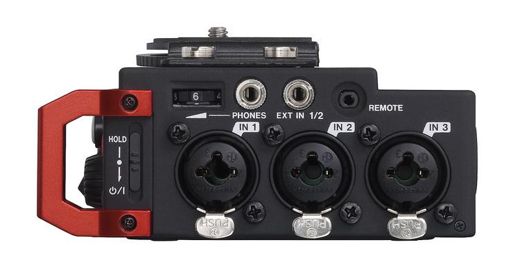 Tascam DR-701D 6-channel audio recorder for DSLR cameras