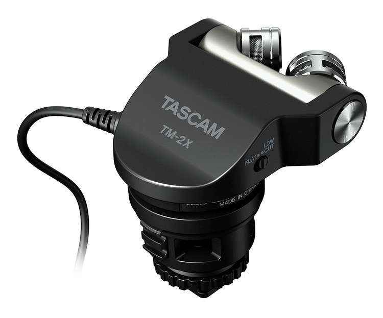 Tascam TM-2X High-quality XY microphone for digital cameras