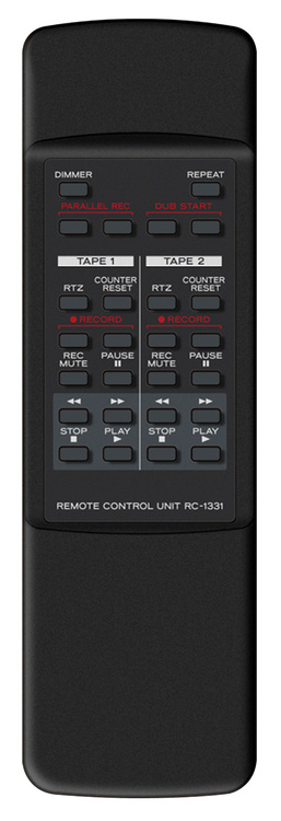 Tascam 202MKVII Dual cassette deck with USB output 19in 3HE