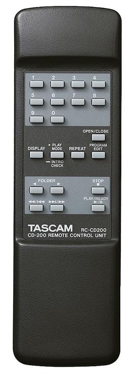 Tascam CD-200  CD player MP3/WAV pitch control IR remote control
