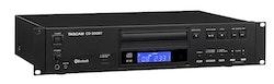 Tascam CD-200BT CD player Bluetooth MP3-WAV IR remote control