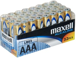 Maxell (AAA) LR-03 32-pack