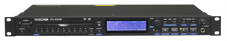 Tascam CD-500B Ultra-compact Professional CD Player