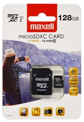 Maxell X-series Micro SDXC 128GB Class 10