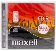 Maxell CD-R Music 52x 80min 10-pack JewelCase