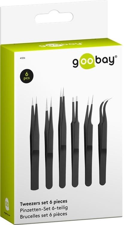 Goobay Metallpincetter 6st