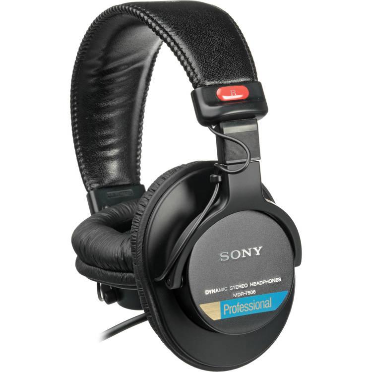 Sony MDR-7506/1 professionell hörlur